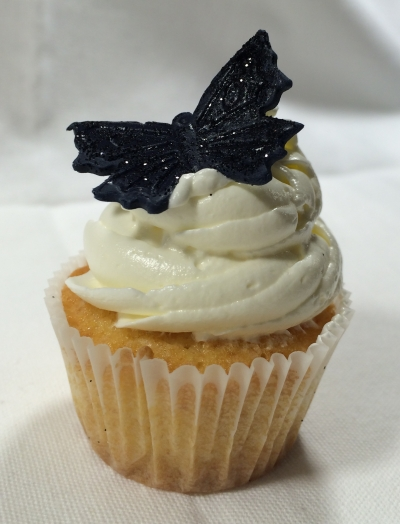 Coconut Mini Cupcake Butterfly