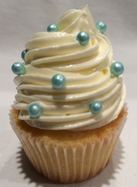 White chocolate Mini Cupcake bowles